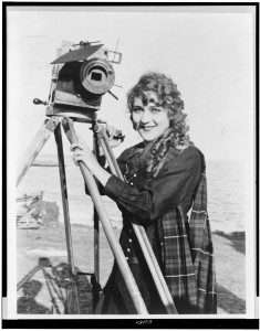 Mary_Pickford_with_Camera
