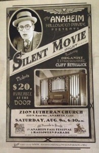 Cliff Retallick will be doing a rare organ accompaniment to some classic comedy shorts