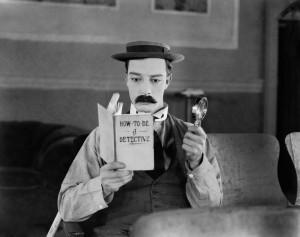 Buster Keaton is Sherlock Jr