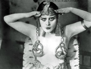 Theda Bara in Cleopatra with live music by Cliff Retallick